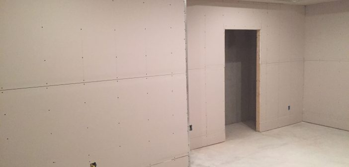 Build a Makerspace – Part 5 – Drywall